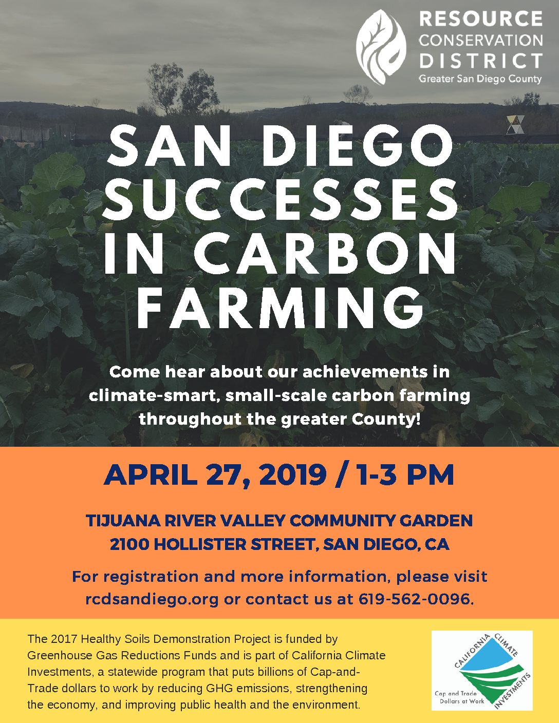 San Diego Successes in Carbon Farming